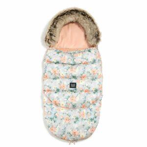 La Millou Aspen Winterproof Stroller Bag Combo Blooming Boutique & Powder Pink śpiworek do wózka