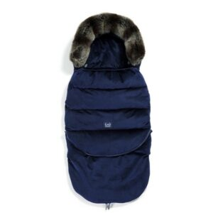 La Millou Velvet Collection Śpiworek do wózka Aspen Winterproof Stroller Bag Combo Royal Navy