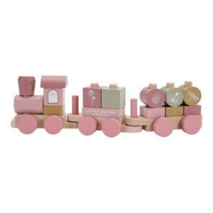 Little Dutch Drewniany Pociąg Róż LD7035