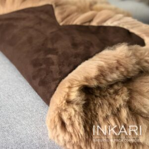 Inkari Dywan, Narzuta Sandastone z Alpaki Handmade